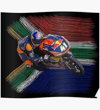 Brad Binder world champion 2016 Poster