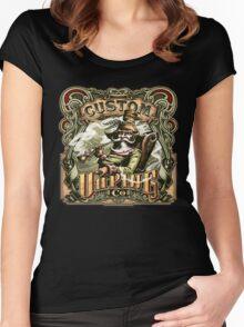 CUSTOM VAPING  Women's Fitted Scoop T-Shirt