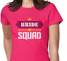 Bride Squad Womens Fitted T-Shirt