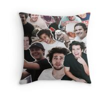 David Dobrik Collage Throw Pillow