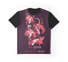 Red Seven In Manchester United Graphic T-Shirt