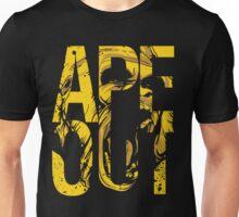 Discreetly Greek :: Alpha Phi Alpha :: APE OUT Unisex T-Shirt