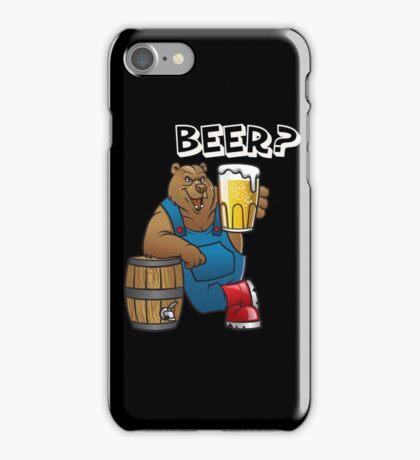 Beer Bear iPhone Case/Skin
