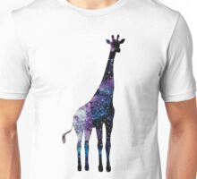 Watercolor galaxy in giraffe Unisex T-Shirt