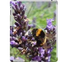 Lavender and the Bee iPad Case/Skin