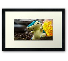 Pokemon - Cyndaquil Framed Print