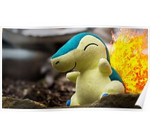 Pokemon - Cyndaquil Poster