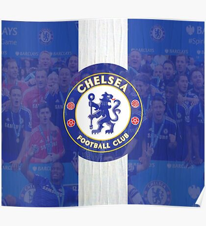 Chelsea Barclays Premiere League Winner Poster