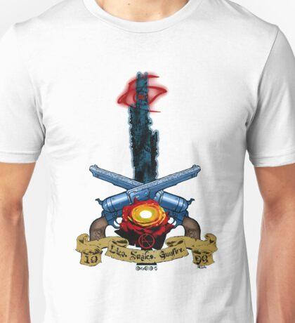 The Dark Tower- Lies. Smiles. Gunfire. Unisex T-Shirt