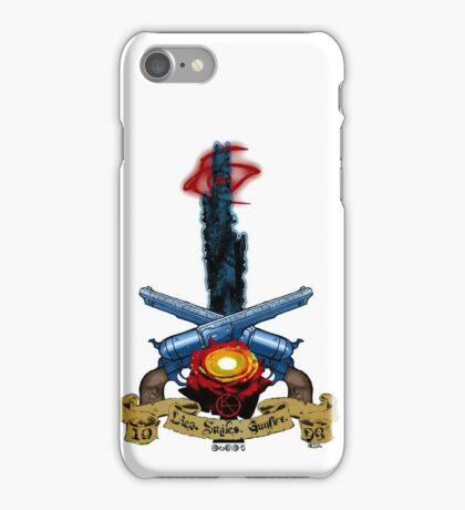 The Dark Tower- Lies. Smiles. Gunfire. iPhone Case/Skin