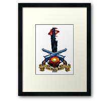 The Dark Tower- Lies. Smiles. Gunfire. Framed Print