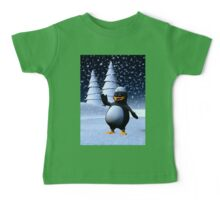 Sailor Penguin Baby Tee