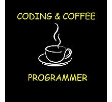 Programmer: Typography Programmer Photographic Print