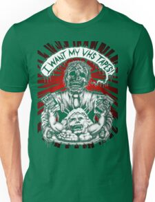 Say You Love Satan 80s Horror Podcast - Creepshow Basketcase VHS Unisex T-Shirt