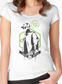 Watch Dogs 2 - Hacker Services Women's Fitted Scoop T-Shirt
