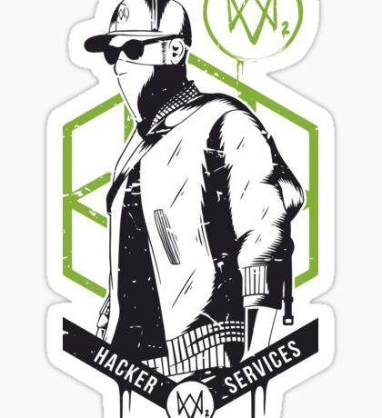 Watch Dogs 2 - Hacker Services Sticker