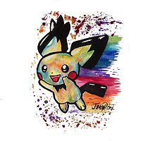 Cute Nyan Pichu Tshirts + More Jonny2may by Jonny2may
