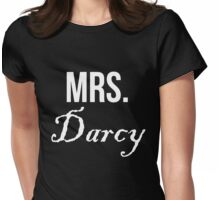 Mrs Darcy Jane Austen Pride & Prejudice Womens Fitted T-Shirt