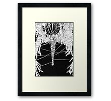 Angel Sava Captured By The Darkness Framed Print