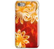 Ghost flowers iPhone Case/Skin