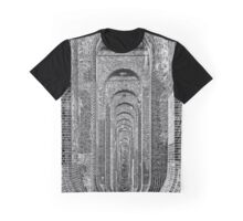 Under the Balcombe Viaduct, Sussex, England Graphic T-Shirt