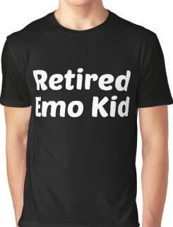 retired emo kid white Graphic T-Shirt