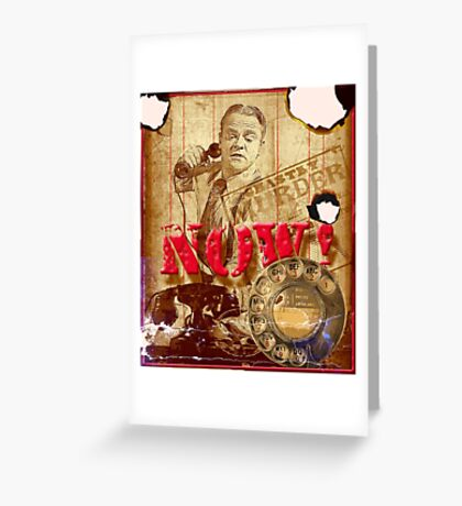 Dial Now! Greeting Card