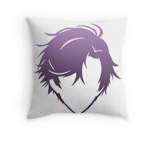 Jumin Han Silhouette - Mystic Messenger Throw Pillow