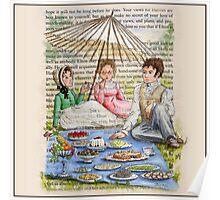 Jane Austen - Emma's Picnic Poster