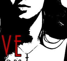 FAITH LEHANE: five by five Sticker