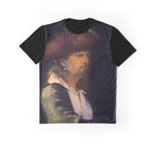 Portrait of a Pirate Graphic T-Shirt