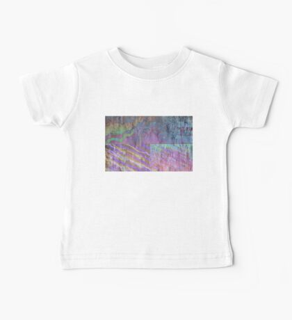 Abstract Photography: Oilslick Collage Baby Tee