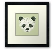 Deforestation Framed Print