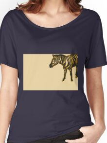 Drawing of a zebra. Illustration Women's Relaxed Fit T-Shirt