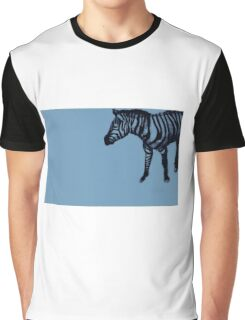 Drawing of a zebra. Illustration Graphic T-Shirt
