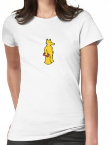 Quasimoto Womens Fitted T-Shirt