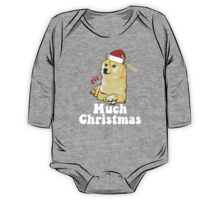 Much Christmas - Doge Meme One Piece - Long Sleeve