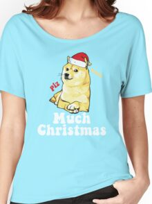 Much Christmas - Doge Meme Women's Relaxed Fit T-Shirt