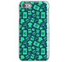 Green Cooking Pattern iPhone Case/Skin
