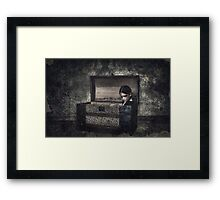 What the Attic Found Framed Print
