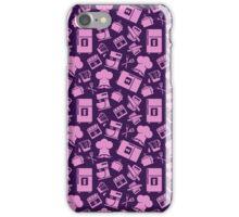Pink Cooking Pattern iPhone Case/Skin