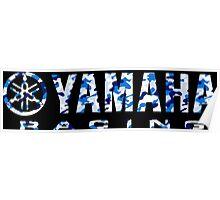 Yamaha Racing Camouflage Poster