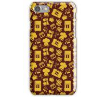Orange Cooking Pattern iPhone Case/Skin