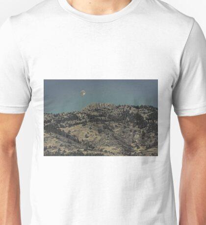 Supermoon and Horsetooth Rock Unisex T-Shirt