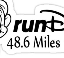 runDopey Sticker