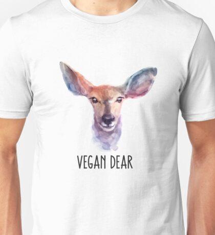 Vegan Dear  Unisex T-Shirt
