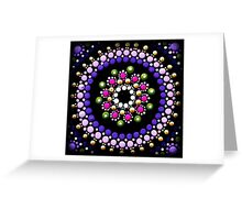 Purple Gem Greeting Card