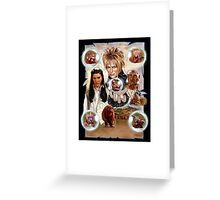 Labyrinth Art Greeting Card