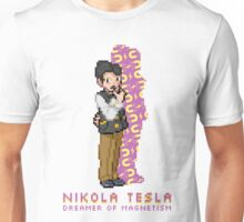 Nikola Tesla Entrenador Pokémon Unisex T-Shirt