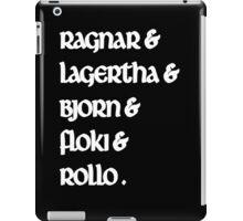 Ragnar & Lagertha & Bjorn & Floki & Rollo - Vikings iPad Case/Skin